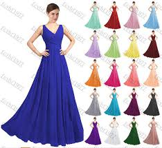 chiffon formal lace evening gown prom bridesmaid