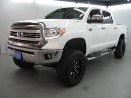 toyota tundra lifted 2015 toyota tundra 1794 edition crew cab 4wd pickup 4 door 5 7l