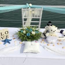 wedding backdrop rental singapore yacht rom wedding decoration package hehdeal sg