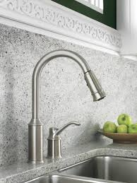 classic kitchen faucets moen 7590csl aberdeen single handle pullout kitchen faucet