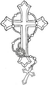 neat s s idea 3 crosses with rosary s