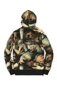 supreme study of hands hoodie size m sweatshirts u0026 hoodies for