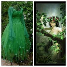 Green Fairy Halloween Costume Deluxe Christmas Party Fairy Dress Absinthe Woman U0027s