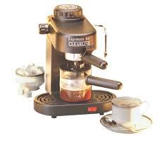 Clearline 1 Ltr Clearline Espresso Coffee Maker Cappuccino Maker