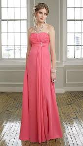 mori lee strapless bridesmaid dress with streamer 294 french novelty