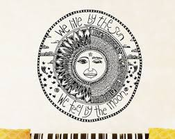we live by the sun etsy