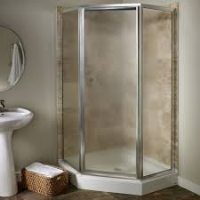 custom prestige framed neo angle shower door american standard