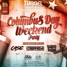 columbus day weekend tunnel tickets thu sep 28 2017 at 6 00