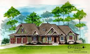 Craftsman Cabin Lakeview Cottage House Plan Cabin House Plans