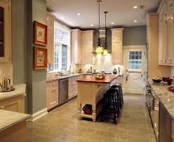 kitchen with center island small kitchen best fresh galley kitchen with center island 17869