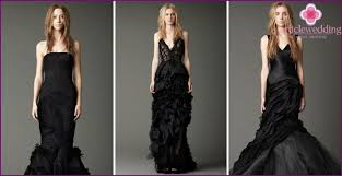 brautkleider vera wang schwarze brautkleider vera wang und die zubehöre dazu fotos