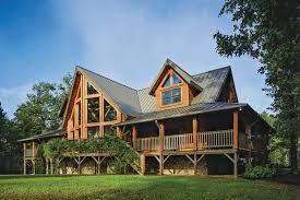 Jim Barna Model Home Log Home Road Trip Tennessee