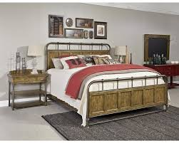 Wood And Iron Bed Frames New Vintage Metalwood Bedstead Broyhill Broyhill Furniture