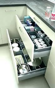 tiroir interieur cuisine amenagement tiroir cuisine rangement interieur tiroir interieur