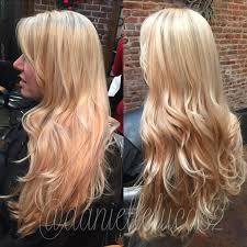Caramel Hair Color With Honey Blonde Highlights Blonde Highlight And Peach Rose Lowlight Done By Me Hair By Me