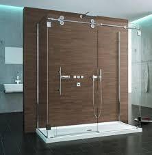 Frameless Shower Sliding Glass Doors Dreamline Dl 662 Enigma Z Fully Frameless Sliding Shower Door And