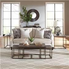 riverside furniture chevron industrial sofa table w shelf