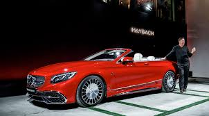 the new mercedes maybach s 650 cabriolet