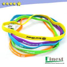 sport headbands best quality non slip elastic sports headbands with custom logo