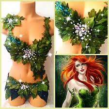 Poison Ivy Costumes Halloween 370 Costumes Super Heroes Villains Images