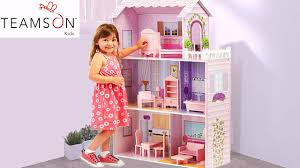 girls dollhouse bed large pink quality dollhouse mansion for girls barbie dolls doll