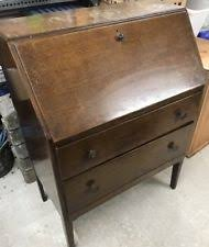 vintage bureau writing desk bureaus vintage writing desks ebay