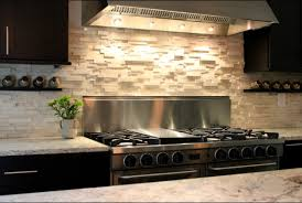 How To Do Tile Backsplash In Kitchen Stone Tile Backsplash Image U2014 Decor Trends How To Install Stone