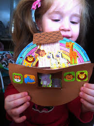 munchkintime noah u0027s ark 3d craft for kids