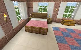 minecraft pink bed bedroom minecraft pinterest bedrooms