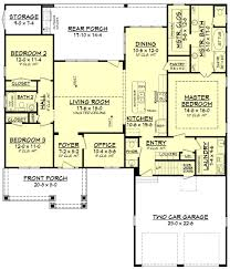 craftsman style house plan 3 beds 2 50 baths 2004 sq ft plan