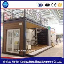 cheap prefab luxury easily double storey mobile residentail