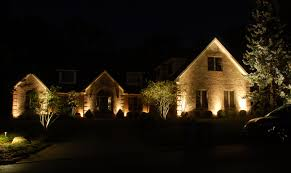 Christmas Lights For House by Landscape Lighting