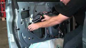 2004 2006 chrysler pacifica window motor regulator youtube