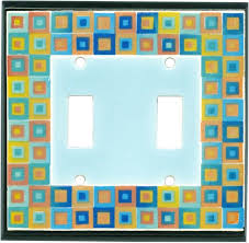clear light switch cover decorative art glass ceramic light switch plate covers outlet modern