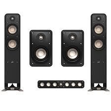 Discount Bookshelf Speakers Polk Audio Signature Series 5 Speaker Bundle W S15 Bookshelf Speakers