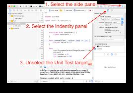 ios cannot load underlying module for u0027xctest u0027 stack overflow