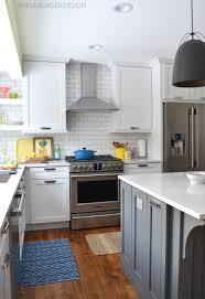 kraftmaid dove white kitchen cabinets kitchen renovation reveal resources burger design llc