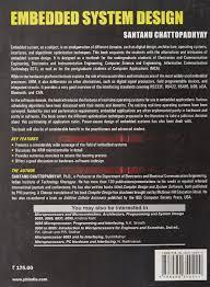 embedded system design santanu chattopadhyay 9788120340244