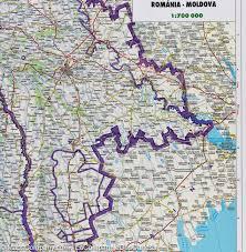 Moldova Map Map Of Romania And Moldova Scale 1 700 000 Freytag U0026 Berndt