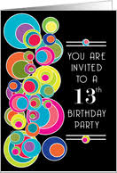 13th birthday invitations from greeting card universe