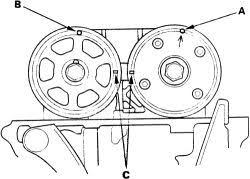 2005 honda accord timing belt or chain 2004 honda cr v the timing chain removal procedure 2 4l gasket