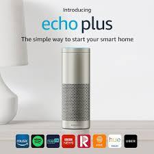 amazon home introducing echo plus with built in smart home hub amazon co uk