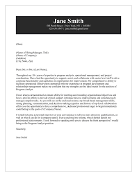 Resume Cover Letter Examples Management by Analyst Cover Letter