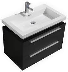 Wall Mounted Bathroom Cabinets Modern Kubebath Tona 32