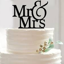 wedding cake m s fashion letters 1pcs ms mrs wedding cakes topper personalized
