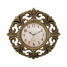 wall watch buy vintage wall clock gold online low prices ezlife in india