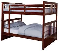 Bunk Beds Espresso Titanic Furniture Wood Bunkbed Espresso