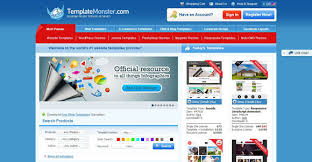 web monster templates free