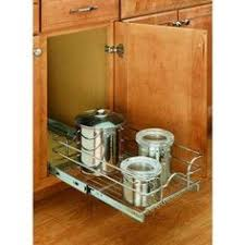 Kitchen Cabinet Pull Outs by Storage Baskets Kitchen Cabinet Chrome Pull Out Wire Baskets W