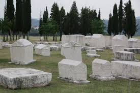 pictures of tombstones radimlja necropolis of tombstones called stećci in stolac the